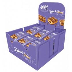 MILKA CAKE & CHOC 35GMS. 24U/.
