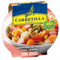 CARRETILLA ENSALADA PASTA...