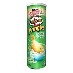 PRINGLES CHEESE & ONION...