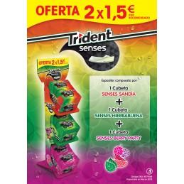 TRIDENT SENSES EXPOSIT. 2 X...