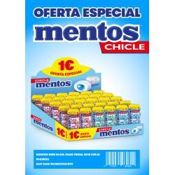 MENTOS GUM POCKET 1¿  3 X...
