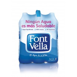 AGUA FONT VELLA 1.5L. 6U/.