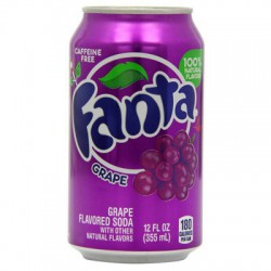 FANTA UVA USA 355ML. 12U/.