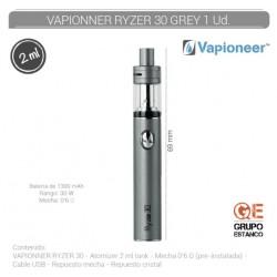 VAPIONEER RYZER 30 GRIS...