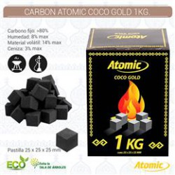 CARBON ATOMIC COCO GOLD 1KG.