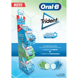 TRIDENT ORAL B EXPOSITOR 30...