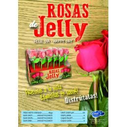 ROSAS DE JELLY 40GMS. 18U/.