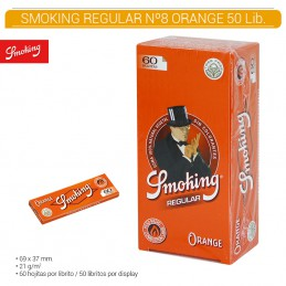 SMOKING ORANGE Nº 8 50U/.