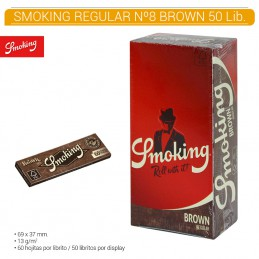 SMOKING BROWN Nº 8 50U/.