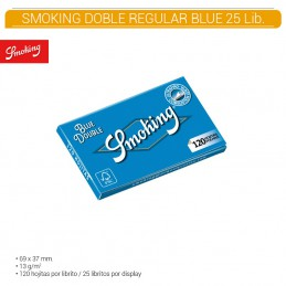SMOKING BLUE DOBLE 25U/.