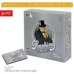 SMOKING BLOC MASTER SILVER...