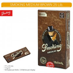 SMOKING BROWN 1.1/4  25U/.