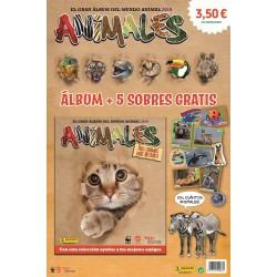 ALBUM + 5 SOBRES ANIMALES...