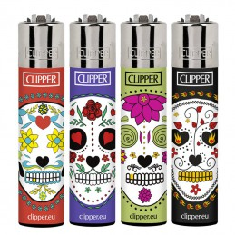 CLIPPER FLOWER SKULLS 48U/.
