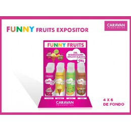 CARAVAN GEL FUNNY FRUITS...
