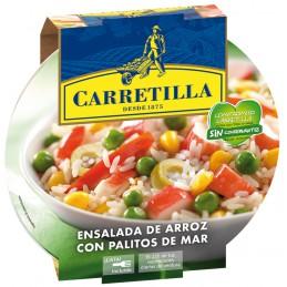 CARRETILLA ENSALADA ARROZ...