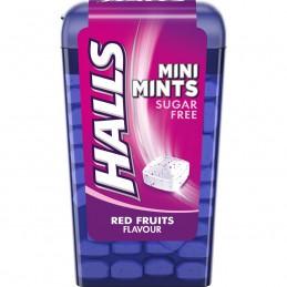 HALLS MINI MINTS RED FRUITS...