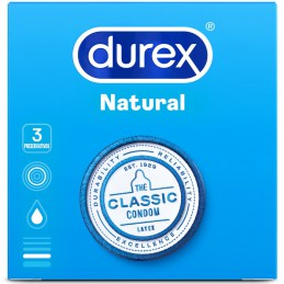 DUREX NATURAL CONFORT 3U....