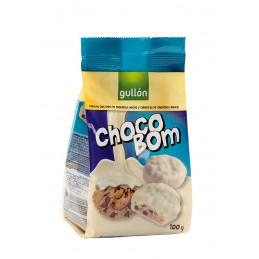 GULLON CHOCOBOM BLANCO 100GMS.