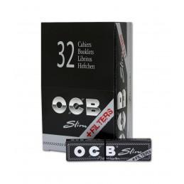 OCB PREMIUM SLIM + TIPS 32U/.