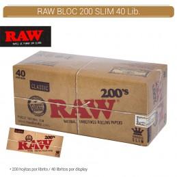 RAW CLASSIC BLOC SLIM 200...