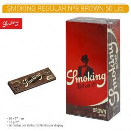 SMOKING BROWN Nº 8 50U/.