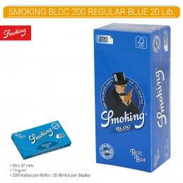 SMOKING BLUE BLOC 20U/.