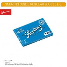 SMOKING BLUE DOBLE 25U/.
