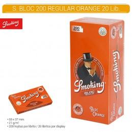 SMOKING ORANGE BLOC 20U/.