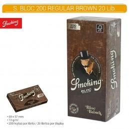 SMOKING BROWN BLOC 20U/.