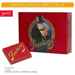SMOKING PAPEL DE ARROZ 100U/.