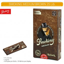 SMOKING BROWN 1.1/4  25U/.