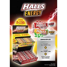 HALLS ENERGY 2 X 1.5¿ 60U/....