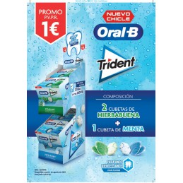 TRIDENT ORAL B EXPOSITOR 3...